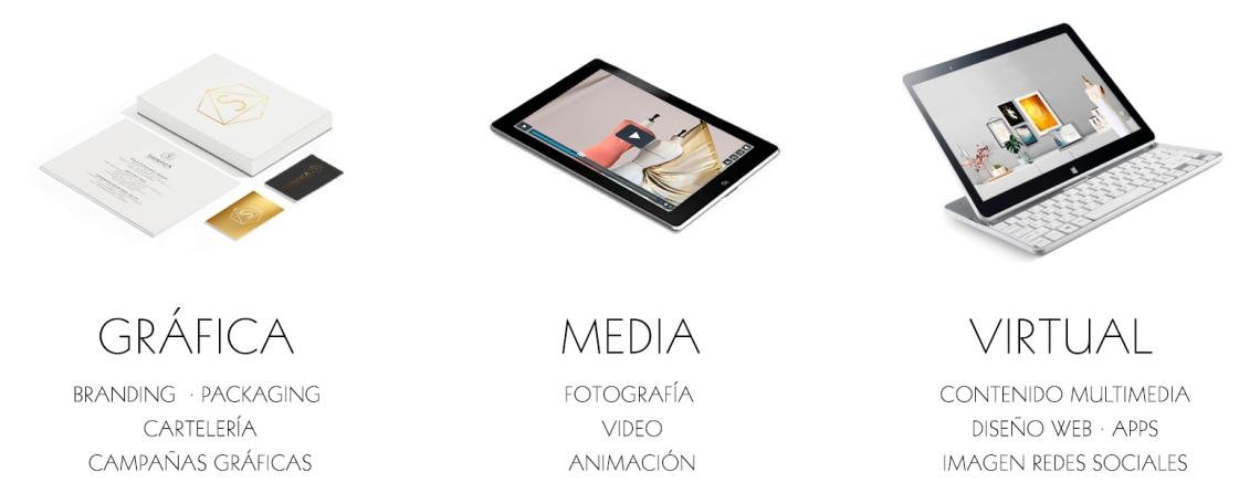 Significa Studio Zoe Seoane servicios diseño grafico web foto video