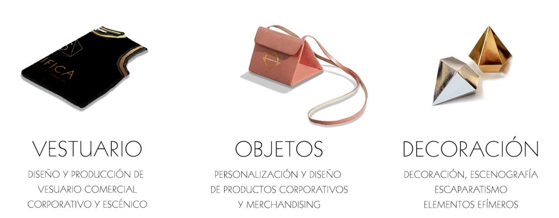 Significa Studio Zoe Seoane servicios vestuario merchandising